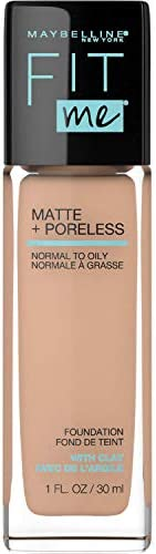 Maybelline Fit Me Matte & Poreless Mattifying Liquid Foundation - Rich Tan