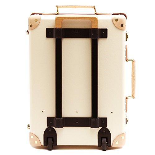 (グローブトロッター)GLOBE TROTTER スーツケース SAFARI サファリ 28L 18インチ 2輪 トローリー 1GTSAFIN18TC/IVORY*NATURAL [並行輸入品]