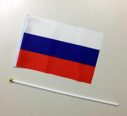 手旗 ロシア / 手旗 国旗 ロシア 世界 ミニ 国旗 手旗