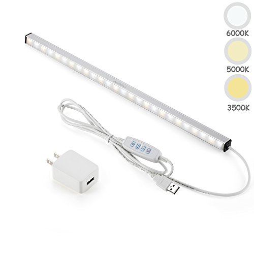 ASOKO LED バーライト 37cm 調光調色 ACアダ...