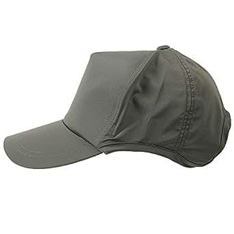 [ビッグワッチ] 帽子 撥水加工 ウォータープルーフ ラウンドキャップ WPR-03 メンズ チャコール L XL 大きいサイズ