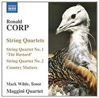 String Quartets Nos 1 & 2/Country Matters for Teno