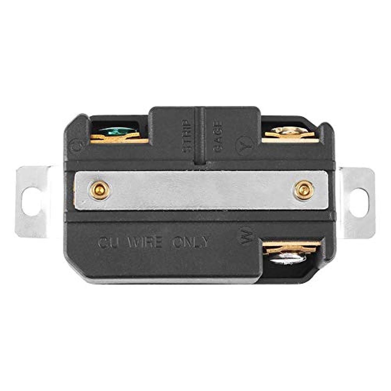 グローブ醸造所生じるジェネレーターロックレセプタクル、L5-30R 30A 125Vロックジェネレーターコードアセンブリ用米国3穴電気メスレセプタクル