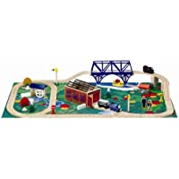 Thomas & Friends Wooden Railway - A Day at The Works Set by Learning Curve [並行輸入品]