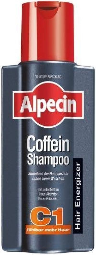 半円規制登場Alpecin Coffein-Shampoo C1 - 8.45 oz /250 ml - fresh from Germany by Alpecin [並行輸入品]