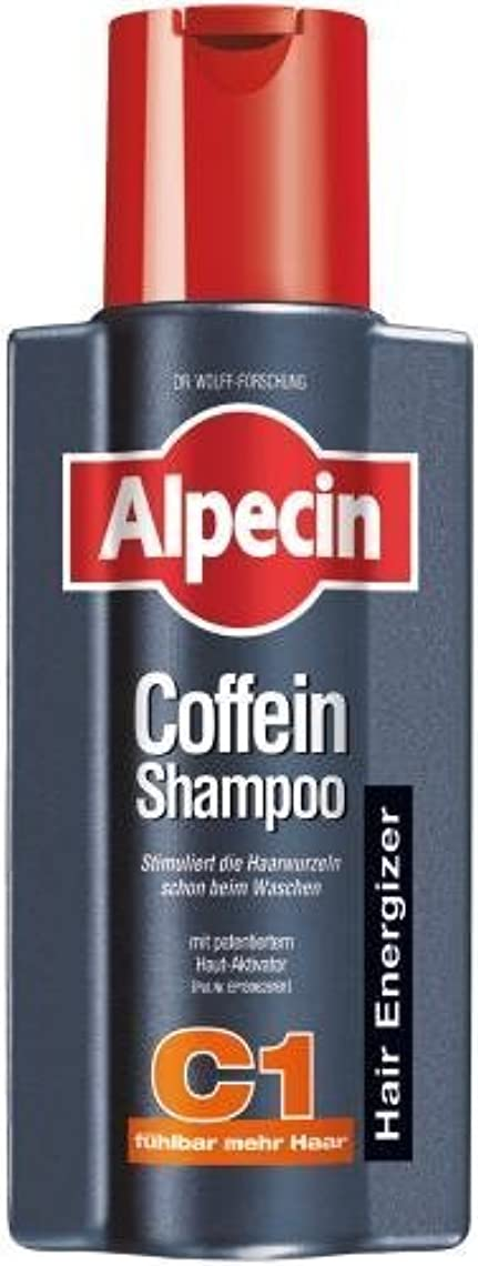 地上で治療ねばねばAlpecin Coffein-Shampoo C1 - 8.45 oz /250 ml - fresh from Germany by Alpecin [並行輸入品]