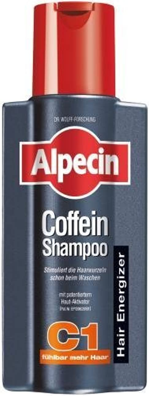 ブッシュ最も早い舗装するAlpecin Coffein-Shampoo C1 - 8.45 oz /250 ml - fresh from Germany by Alpecin [並行輸入品]