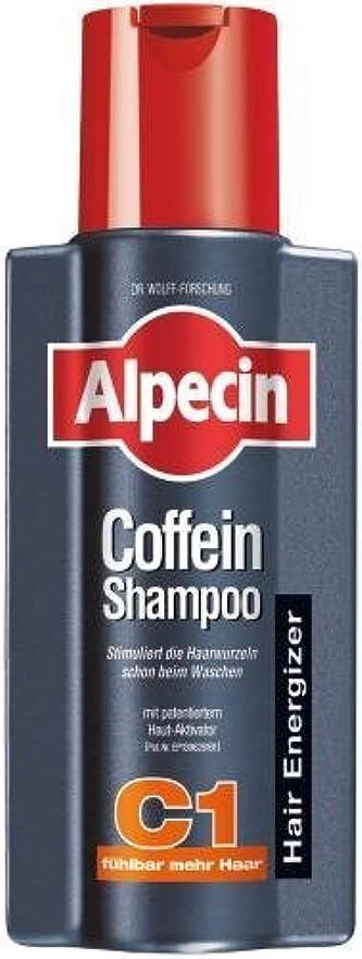 絶滅した封筒添付Alpecin Coffein-Shampoo C1 - 8.45 oz /250 ml - fresh from Germany by Alpecin [並行輸入品]