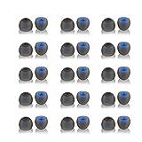 イヤーピース イヤホンキャップ シリコンイヤーピース 30個入り 交换用イヤホンキャップ シリコンイヤーピース 低反発 ハイブリッドイヤーピース シリコン製