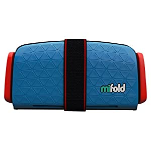mifold(マイフォールド) デニムブルー 携帯型 ジュニアシート 15~36kg【日本正規品】/ BCMI00102