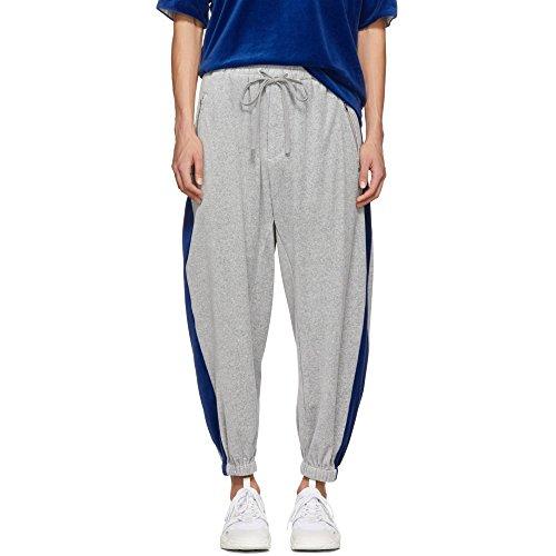 (スリーワン フィリップ リム) 3.1 Phillip Lim メンズ ボトムス・パンツ スウェット・ジャージ Grey Baggy Velour Lounge Pants [並行輸入品]