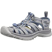 KEEN Women's Whisper Athletic and Outdoor Sandals, Black