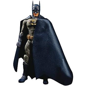 Mezco Toys One: 12コレクティブ:DC バットマン ソブリンナイト (ブルーバージョン) アクションフィギュア