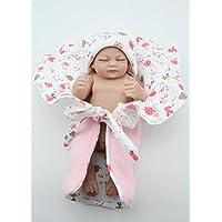 Nicery 生まれ変わった赤ちゃん人形おもちゃハードシミュレーションシリコンビニール10インチ26cm防水おもちゃとギフト Reborn Baby Doll NPK26005G