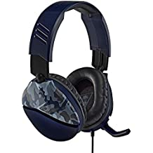 Turtle Beach Recon 70 Blue Camo Gaming Headset for PlayStation 4 Pro, PlayStation 4, Xbox One, Nintendo Switch, PC, and mobile - PlayStation 4