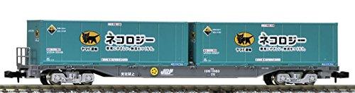 JR貨車 コキ106形(後期型・ヤマト運輸コンテナ付) 8723