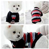 FidgetGear 高貴な小さな猫小さな犬服ペット子犬かわいいTシャツ犬猫アパレル5サイズ XS