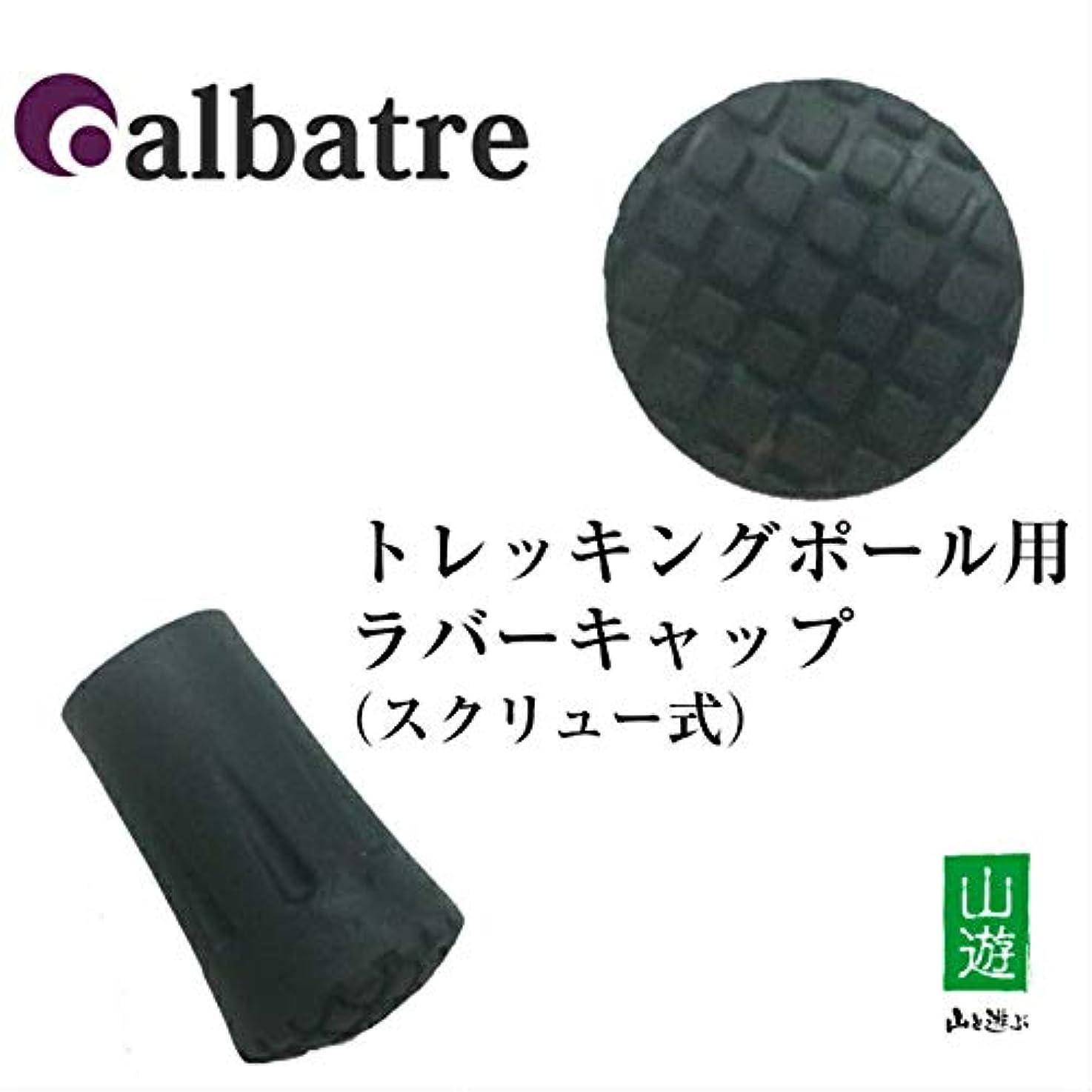 傾く謝罪体[アルバートル]ALBATRE トレッキングポール用先ゴム TPA-130【スクリュータイプ】