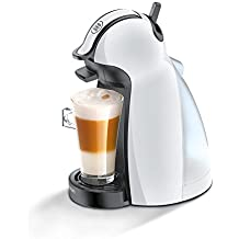 Dolce Gusto (Delonghi) Piccolini Capsule Coffee Machine - EDG 100W - White