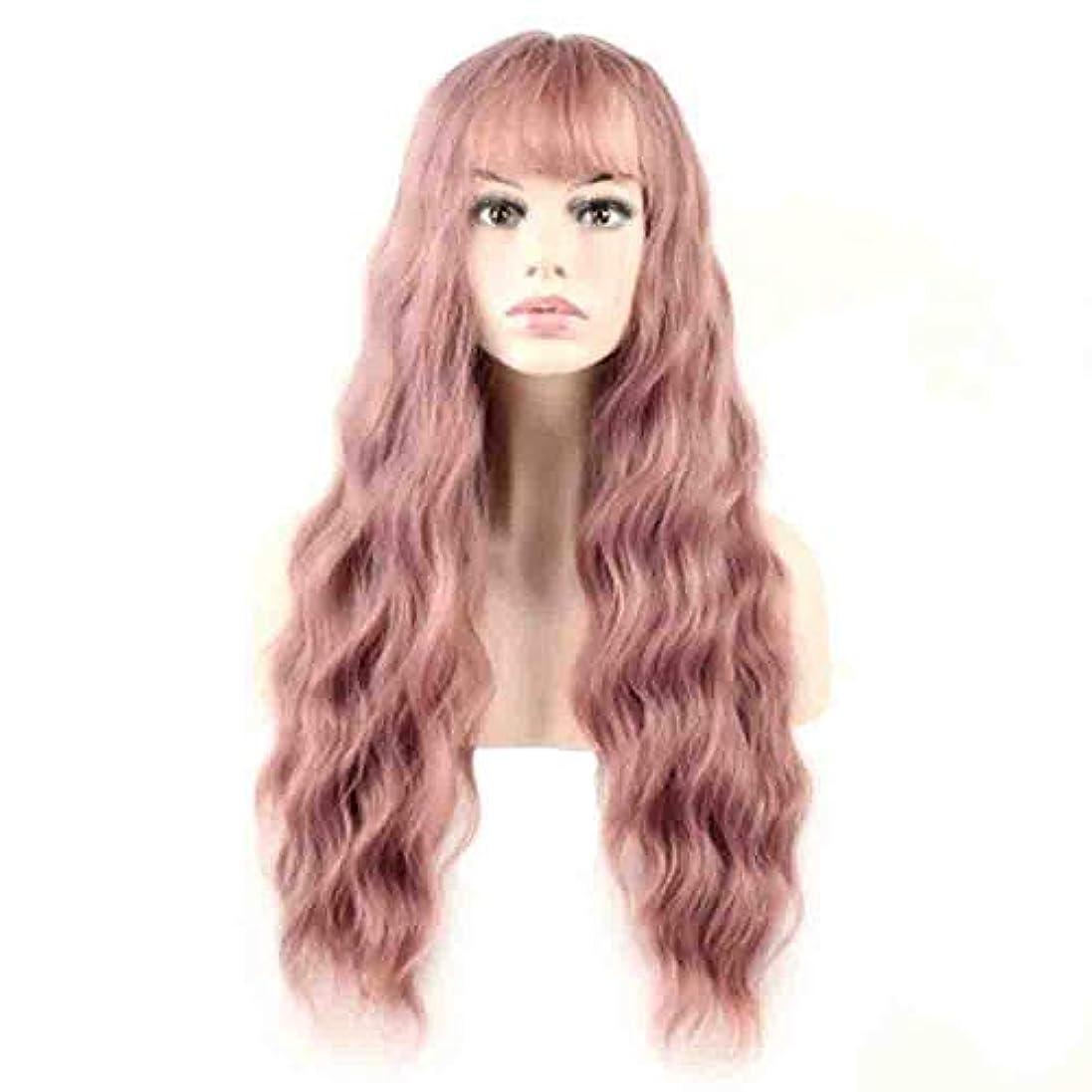 ジム対応微妙女性のための色のかつら、ポニーテールのロリータカーリーコスプレウィッグ、高密度温度合成ウィッグコスプレヘアウィッグ、耐熱繊維ヘアウィッグ