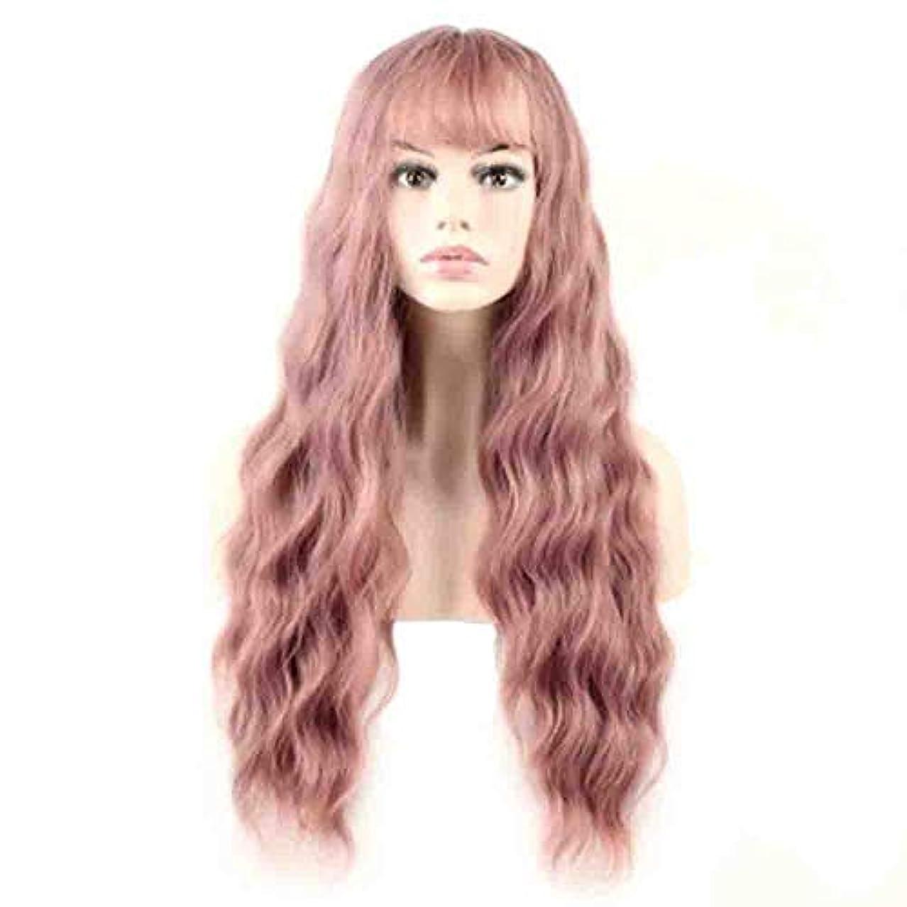 流行している話すヘロイン女性のための色のかつら、ポニーテールのロリータカーリーコスプレウィッグ、高密度温度合成ウィッグコスプレヘアウィッグ、耐熱繊維ヘアウィッグ