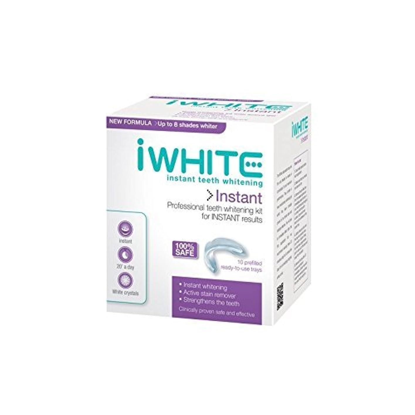 しょっぱいシャンパン視線iWhite Instant Professional Teeth Whitening Kit (10 Trays) - キットを白くするインスタントプロの歯(10個のトレー) [並行輸入品]