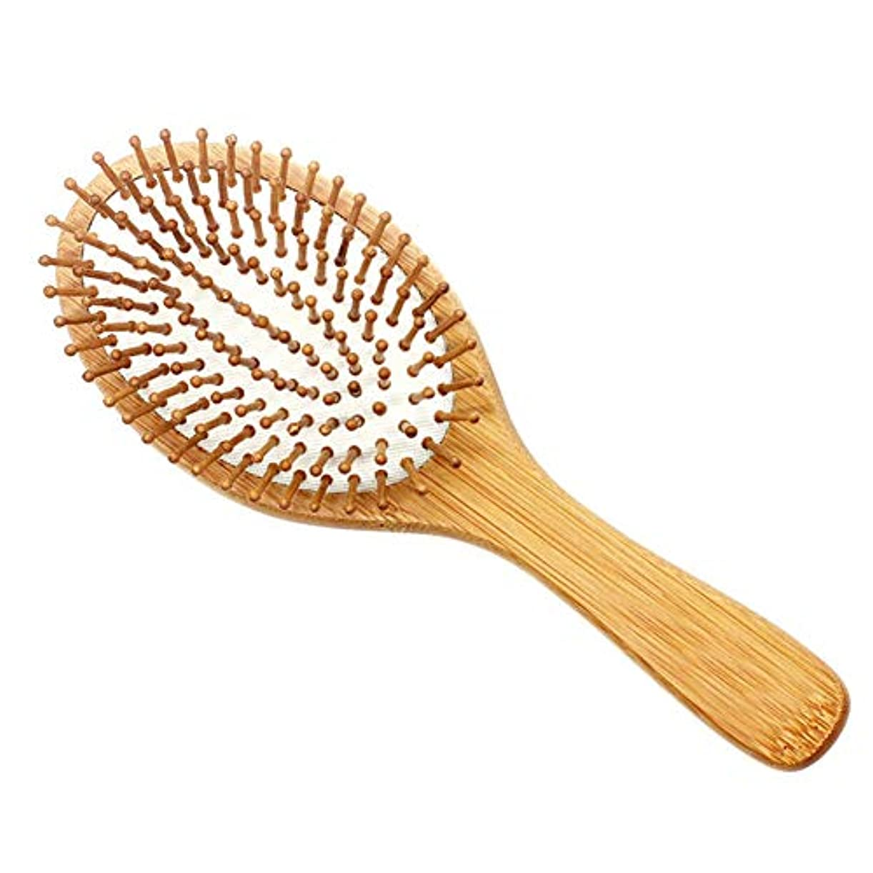 マエストロ軍割り当てDoo ヘアブラシ 竹製ヘアケア 頭皮 マッサージ 美髪ケア 血行促進 薄毛改善 静電気 防止 メンズ レディース コーム