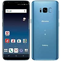 SAMSUNG 【SIMロック解除済】docomo Galaxy S8 SC-02J Coral Blue