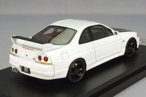 ☆ 【アイアイアドカンパニー/新宿おもちゃカーニバル特注】 hpi MIRAGE 1/43 日産 スカイライン GT-R R33 V-spec N1 ホワイト
