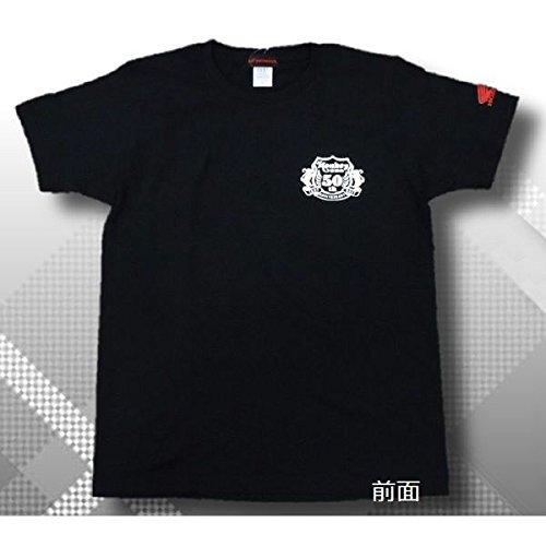[해외]Honda (혼다) 몽키 50 주년 스페셜 T 셔츠 블랙 FREE (L) 사이즈 0SYEP-X53-KF/Honda (Honda) 50th Anniversary Special T-shirt Black FREE (L) Size 0SYEP-X53-KF