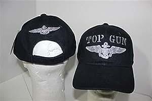 刺繍ネイビーブルーミリタリーUS NavyトムクルーズTop Gun野球ボール帽子キャップ