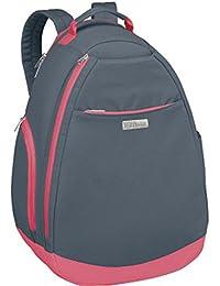 WILSON(ウィルソン)テニスバッグ WOMENS BACKPACK GYPK グレー×ピンク WRZ864796