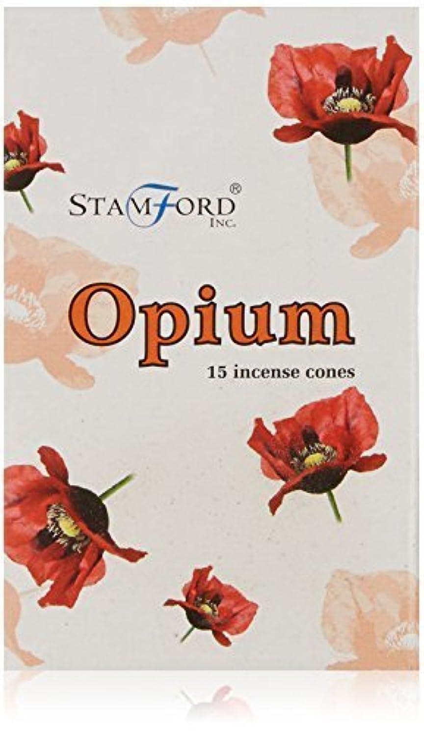 揺れるキラウエア山免疫するStamford Opium Incense Cones by Stamford