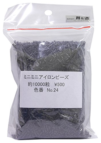 [해외]창 &  유 미니 다리미 비즈 Col.24 블랙 100g MB-500/Creation &  Mini Mini Iron Bead Col.24 Black 100 g MB-500