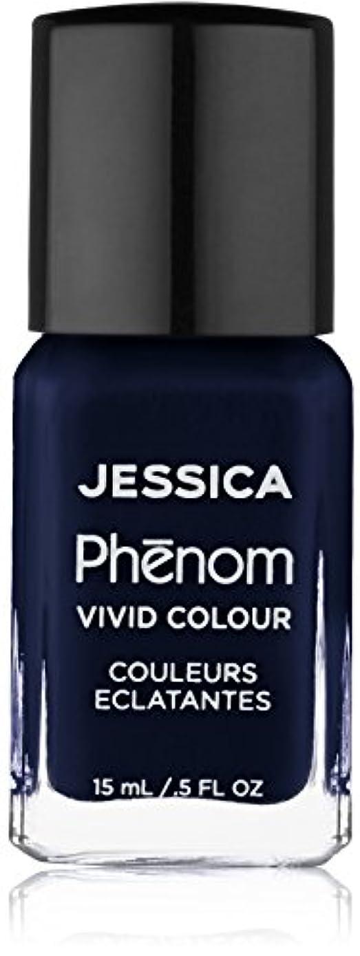 お互い疼痛横たわるJessica Phenom Nail Lacquer - Blue Blooded - 15ml / 0.5oz