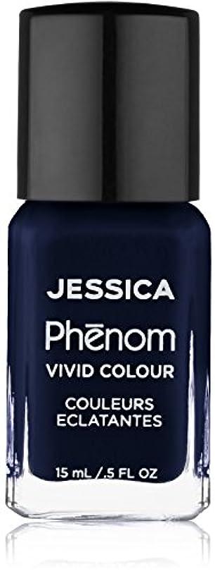 回転させる警報オンJessica Phenom Nail Lacquer - Blue Blooded - 15ml / 0.5oz