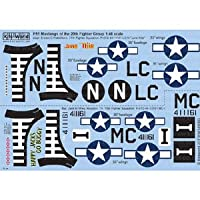 1/48 WW.II 米空軍 P-51D マスタング 第20戦闘群 第77飛行隊/第79飛行隊