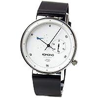 コモノ KOMONO Walther クオーツ ユニセックス 腕時計 KOM-W4032 ホワイト [並行輸入品]