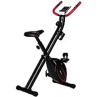 ウルトラスポーツ 折り畳み式フィットネスバイクF-bikeアドバンス (デジタルメーター・心拍センサー付)