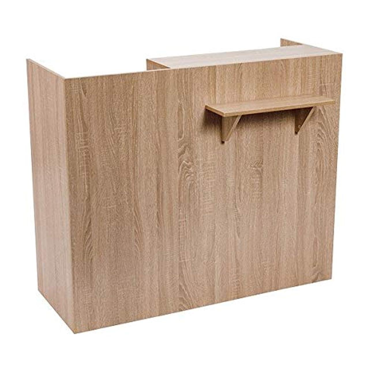 フェッチ後ろ、背後、背面(部うなる木製レジカウンター (ブラウン) FV-2531 [W1200] レジカウンター レジ台