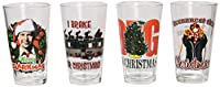 ICUP National Lampoon's Christmas Vacation Comedy Mix Pint Glass , Clear by ICUP