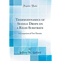 Thermodynamics of Sessile Drops on a Rigid Substrate: A Comparison of Two Theories (Classic Reprint)