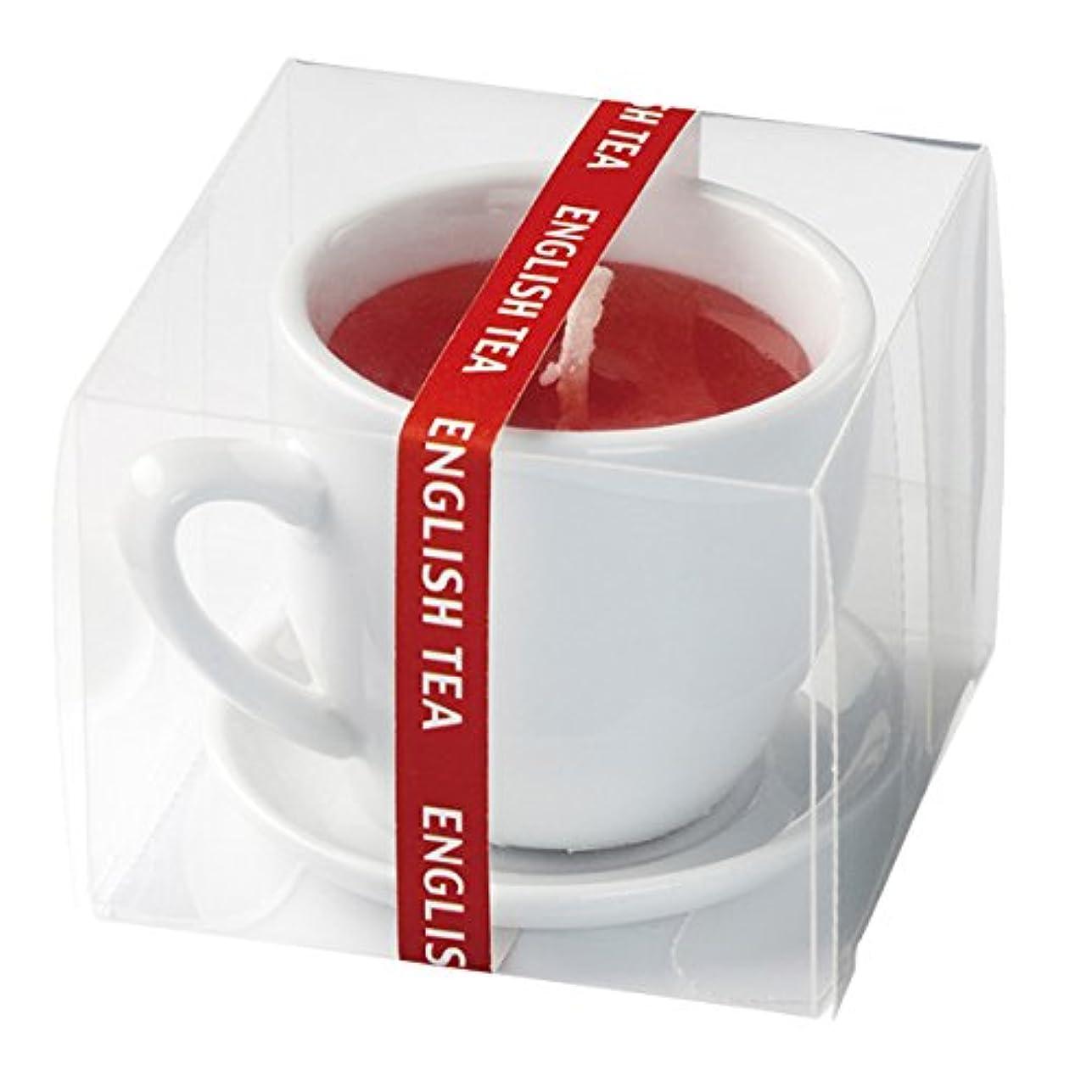 シルク考慮二度紅茶キャンドル