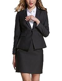 レディース ビジネス スーツ 2点セット フォーマル リクルート ストレッチ オフィス OL 通勤 就活 大きいサイズ 正式 エレガンス 入園式 卒業式 卒園式