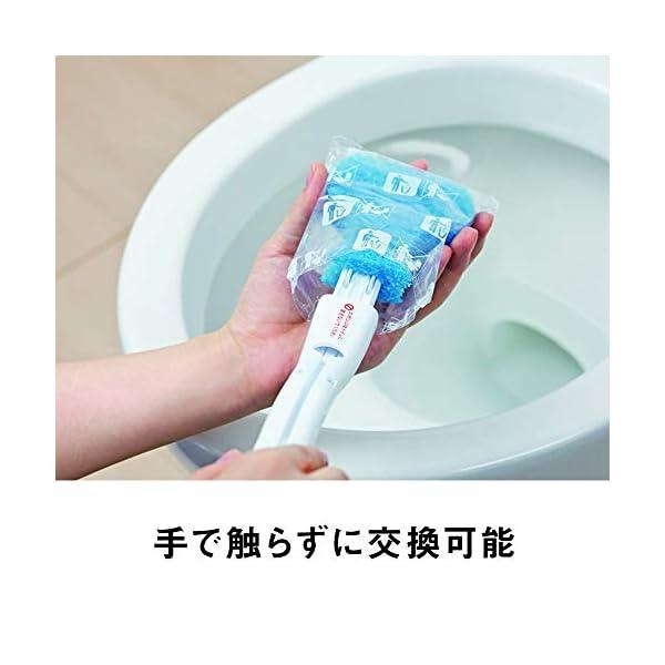 3M トイレブラシ クリーナー 洗剤付 取替1...の紹介画像5