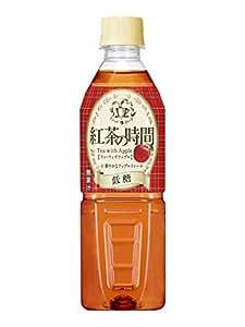UCC 紅茶の時間 ティーウィズアップル 低糖 ペットボトル 500ml ×24本