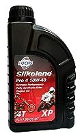FUCHS SILKOLENE(フックスシルコリン) PRO 4 10W40 XP 1L エステル系4ストロークスポーツバイク用オイルJASO/MA2 SIL988715