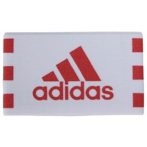 アディダス(adidas) FB キャプテンマーク(バンド型) KQ795 E37439 ホワイト/カレッジレッド S