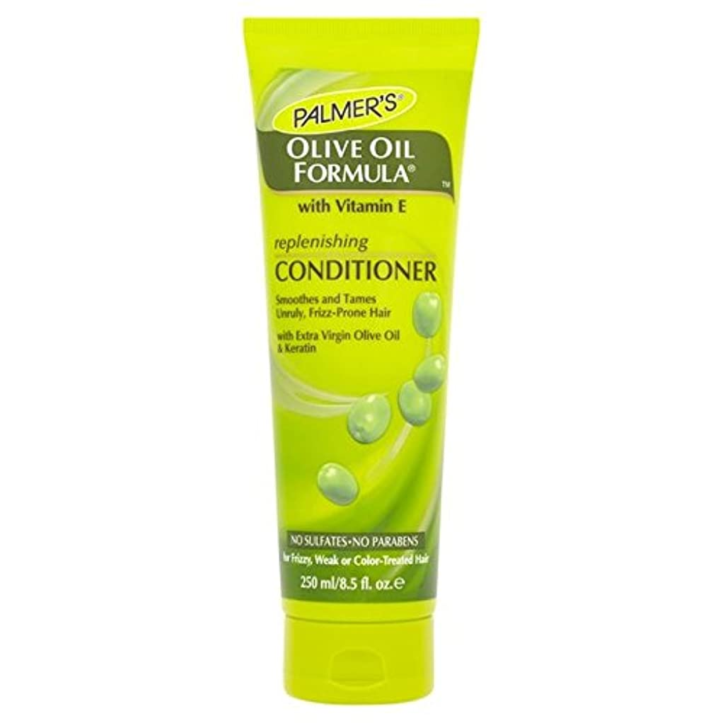 懐疑論ストローク拡声器パーマーのオリーブオイル式リストアコンディショナー250 x4 - Palmer's Olive Oil Formula Restoring Conditioner 250ml (Pack of 4) [並行輸入品]