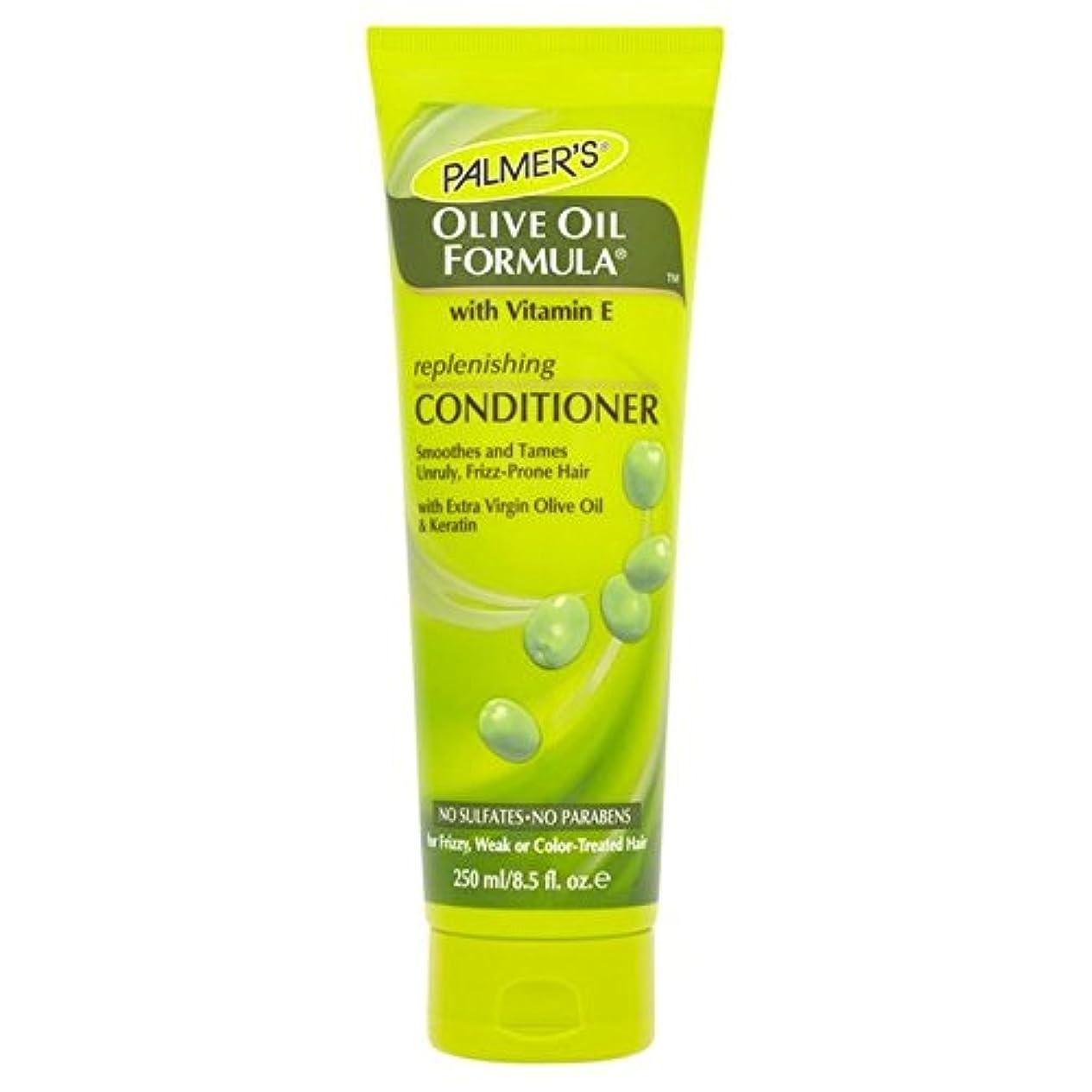 たっぷり調停する追加するパーマーのオリーブオイル式リストアコンディショナー250 x4 - Palmer's Olive Oil Formula Restoring Conditioner 250ml (Pack of 4) [並行輸入品]